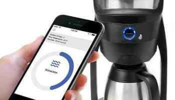 The Smartphone Controlled Coffee Maker