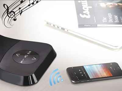 The Bluetooth Speaker LED Lamp 1