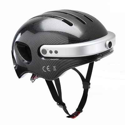 The Smarter Bike Helmet