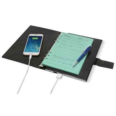The Personalized Device Charging Notebook 1