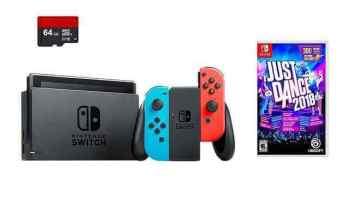 Nintendo Switch 3 items Bundle