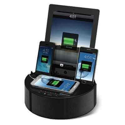 The Five Device Charging Speaker