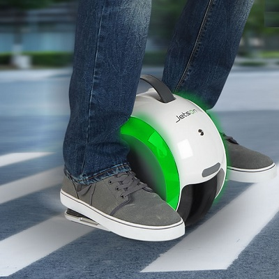 The Dual Wheel Gyroscopic Scooter 1