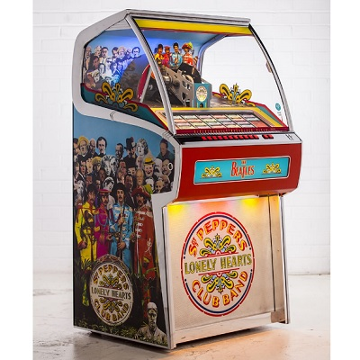 The Sgt. Pepper's Vinyl Jukebox