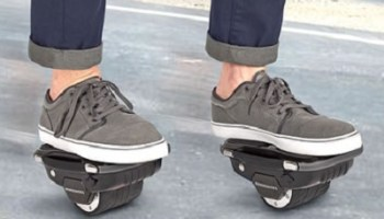 The Easy Ride Hoverboard Skates