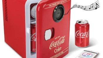 The Bluetooth Speaker Coca-Cola Refrigerator