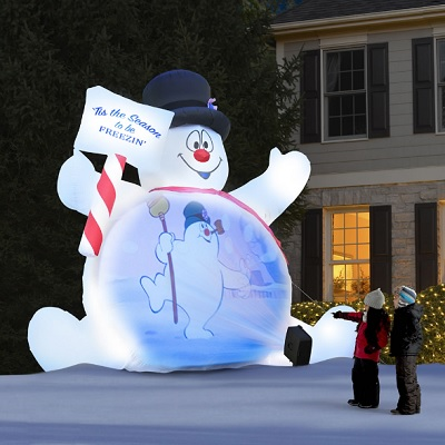 Video-Projecting-Frosty-The-Snowman