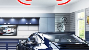 Motion-Activated-Garage-Light