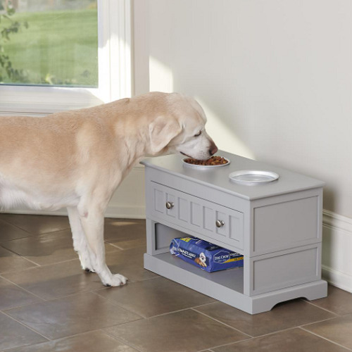 Height-Adjustable-Pet-Feeder