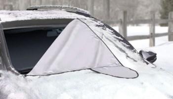 Windshield-Snow-Tarp