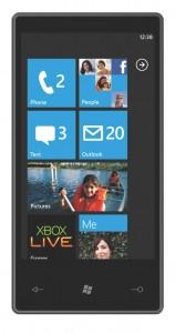 Windows 7 Phone Start Screen