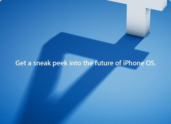 iPhone 4.0 OS Event