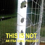 Steeel goal posts - NOT FROM ITSA Goal Posts