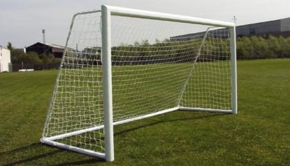 Aluminium Goals / Eliptical Freestanding Mini Soccer 12×6