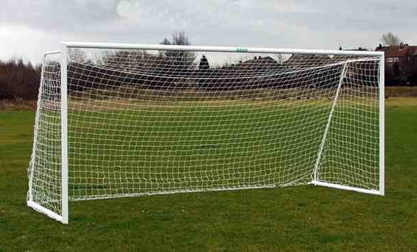 Folding Aluminium Goalpost 16'x7' Lightweight
