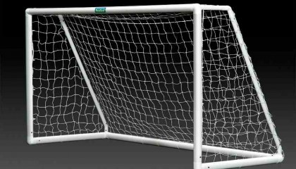 Goals for the garden – uPVC 8′ x 4 – two section crossbar