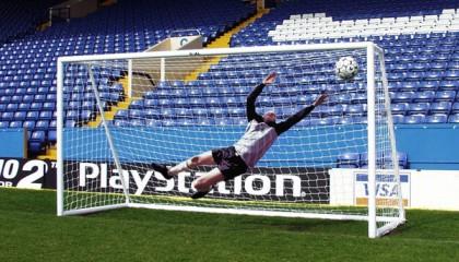 uPVC Mini Soccer Goal 12′ x 6′ – fits into 1.5m goal bag