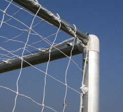 ALUMINIUM FOOTBALL GOAL POSTS
