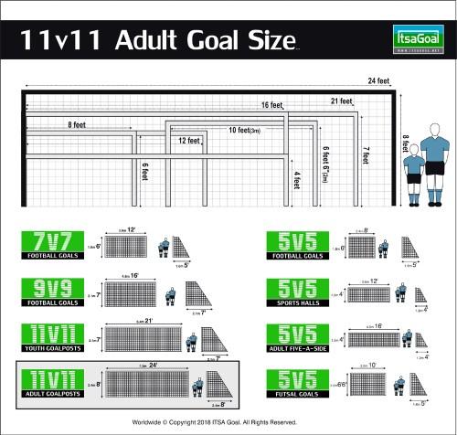 adult goal size