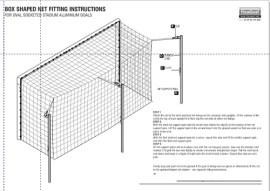 stadium box net fitting