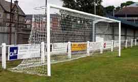 football goals socketed aluminium
