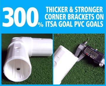 Goal Post Corner Brackets