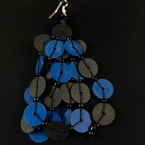 oorbel blauw recycled plastic duurzaam eco fairtrade teenslippers flipflop 1223344752122