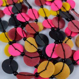 Ketting multicolor recycled Vinyl duurzaam eco fairtrade 122335495022