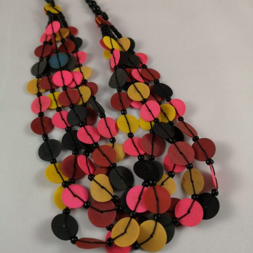 Ketting multicolor recycled Vinyl duurzaam eco fairtrade 1223354950222