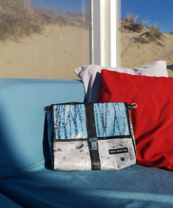 Schoudertas uniek reclamebanner recycled eco fairtrade 112133435707