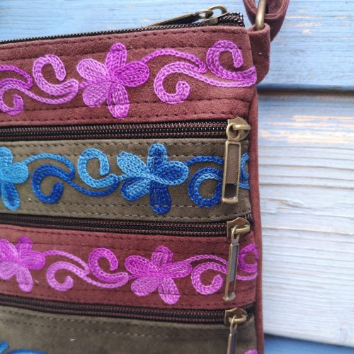 details happy lona blauw paars