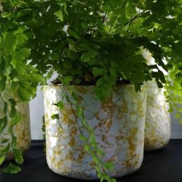mosterd bloempot kinta recycle