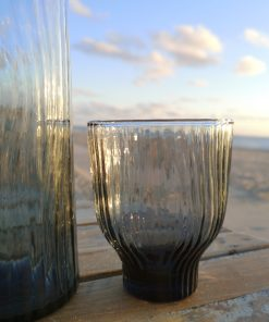 glas loodvrij kristal grijs
