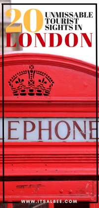 20 Of London's Unmissable Tourist Sights To Add To Your Itinerary Now | London Telephone Box