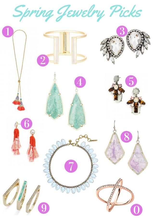 Spring Jewelry Picks
