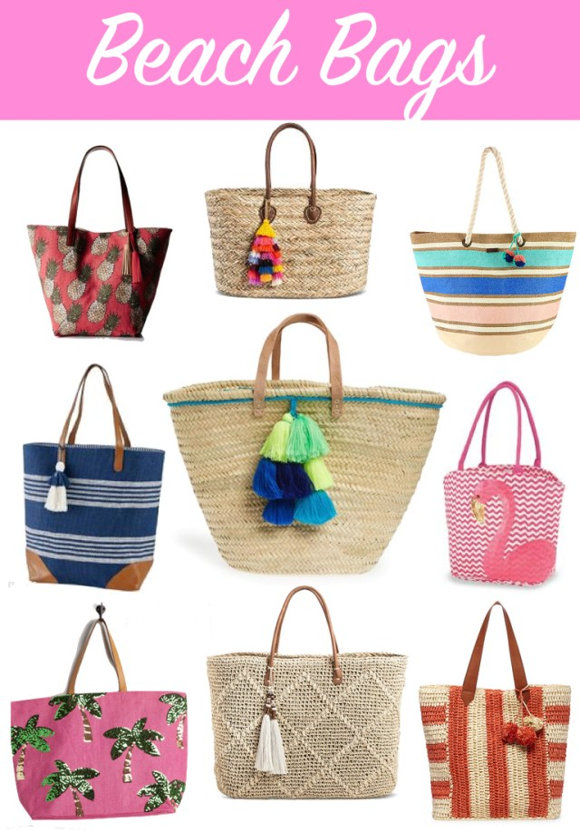 Beach Bags under $50 | It's All Chic To Me