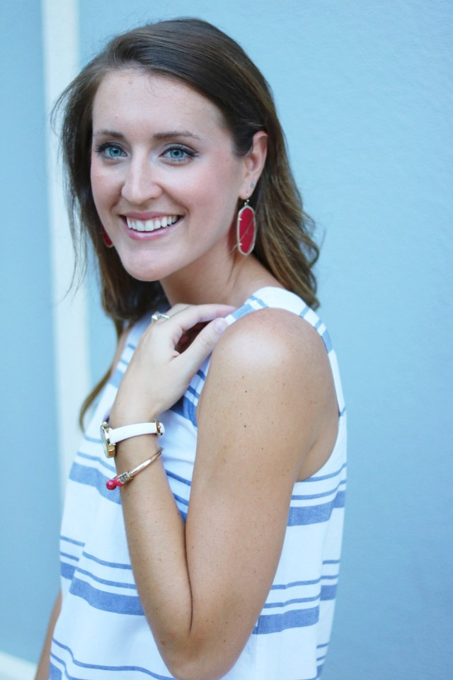 Summer Stripes | Red, white and Blue with Lilla P. | It's All Chic To Me