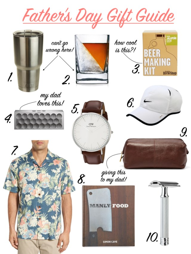 Father's Day Gift Guide | It's All Chic To Me