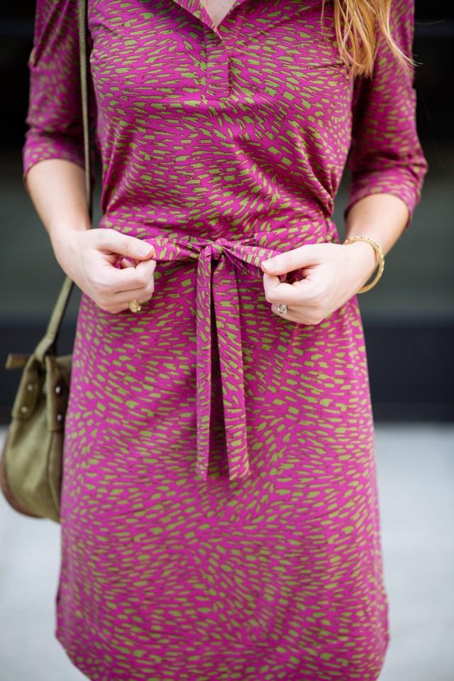 Chic business casual: effortless work attire dress + pumps