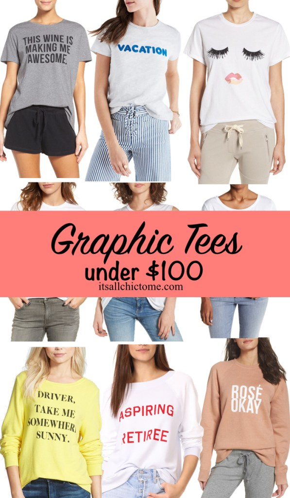 Graphic tees for all budgets