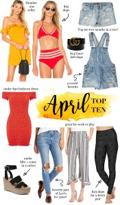 April Top Ten