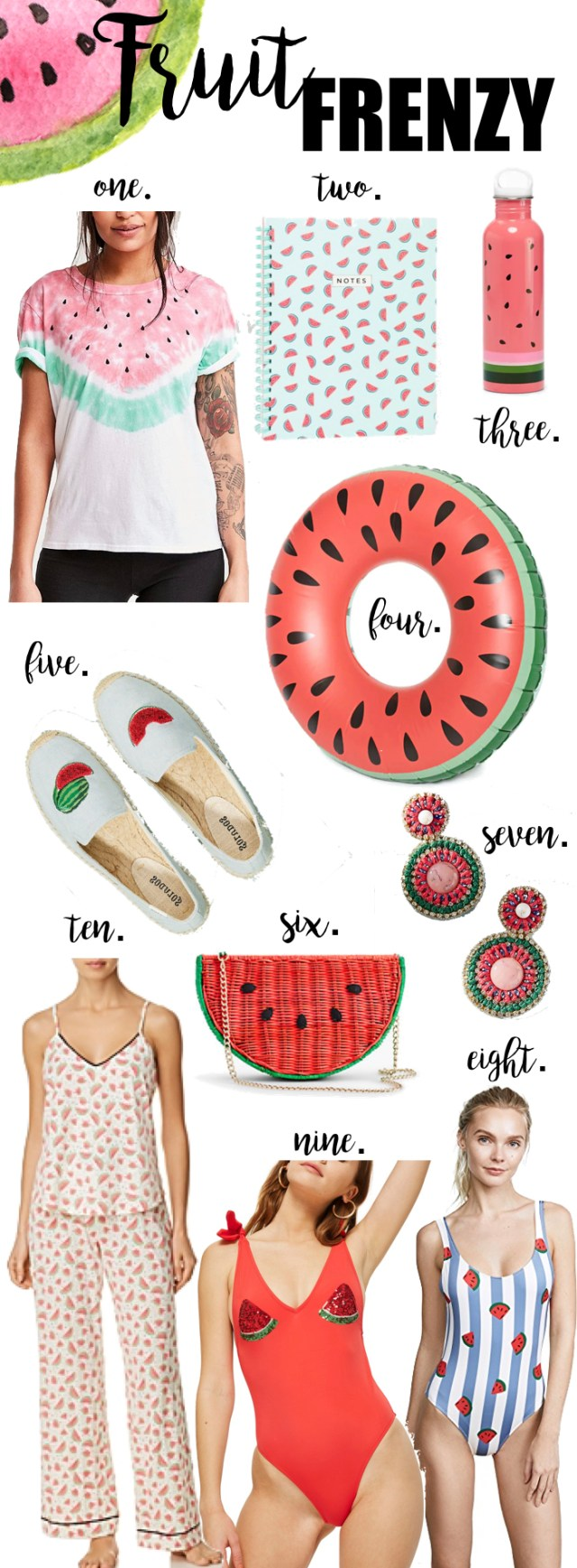 Watermelon Summer Trends