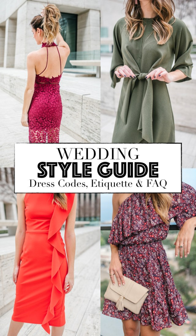 Wedding Style Guide: Dress Codes, Etiquette and FAQ