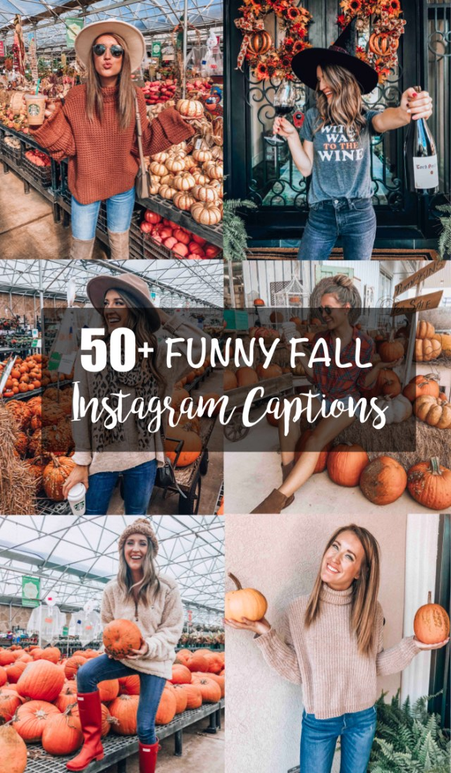 Funny Fall Instagram Captions