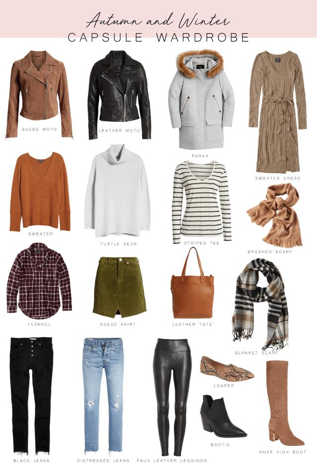 Autumn and Winter Capsule Wardrobe