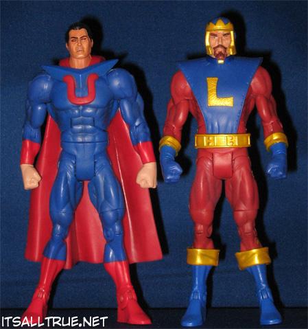 Ultraman and Alexander Luthor