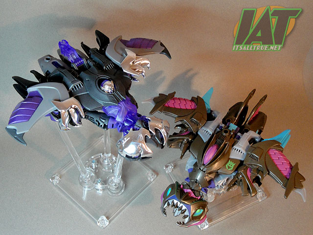 Vault Review: Transformers Prime Sharkticon Megatron « It'sAllTrue Net