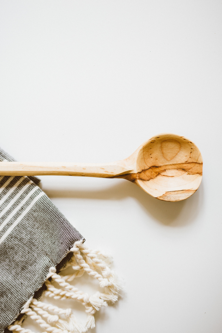 Wooden Spoon from Grain by Fracture Goods
