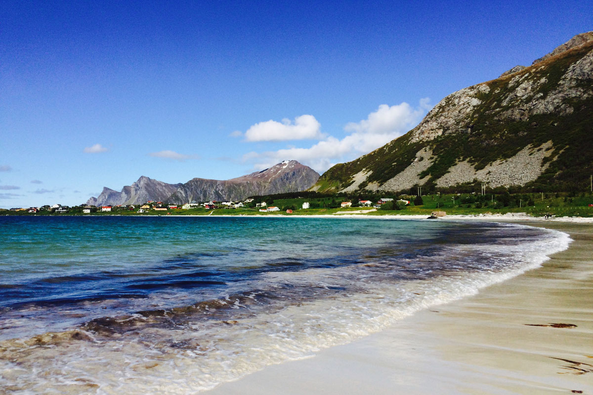 Ramberg Lofoten Norway Summer 2015