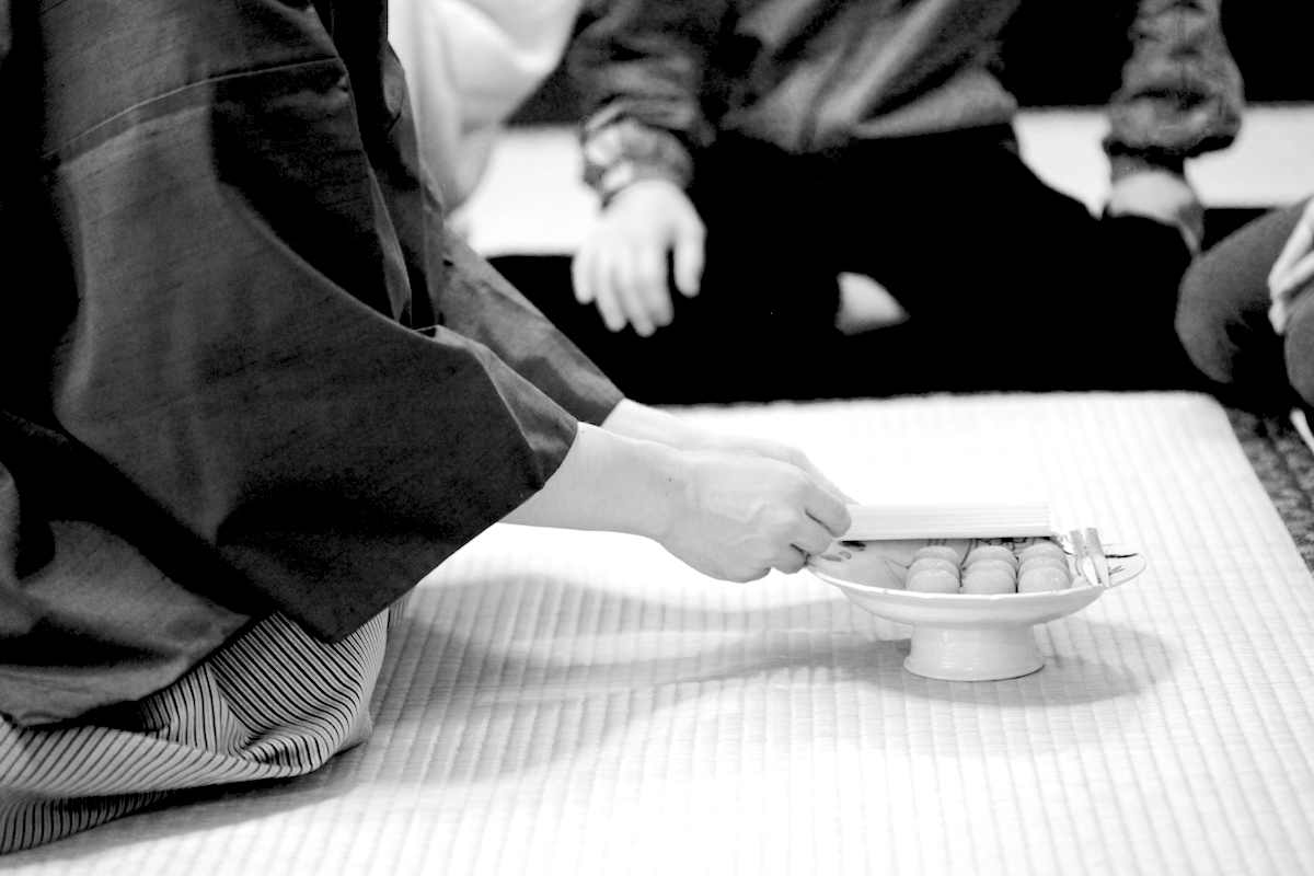 At a Japanese Tea Ceremony Tenkawa Japan